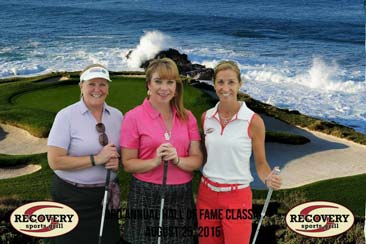 albany photo booth rentals women at golf tournament
