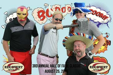albany photo booth rentals 4 guys enjoying party